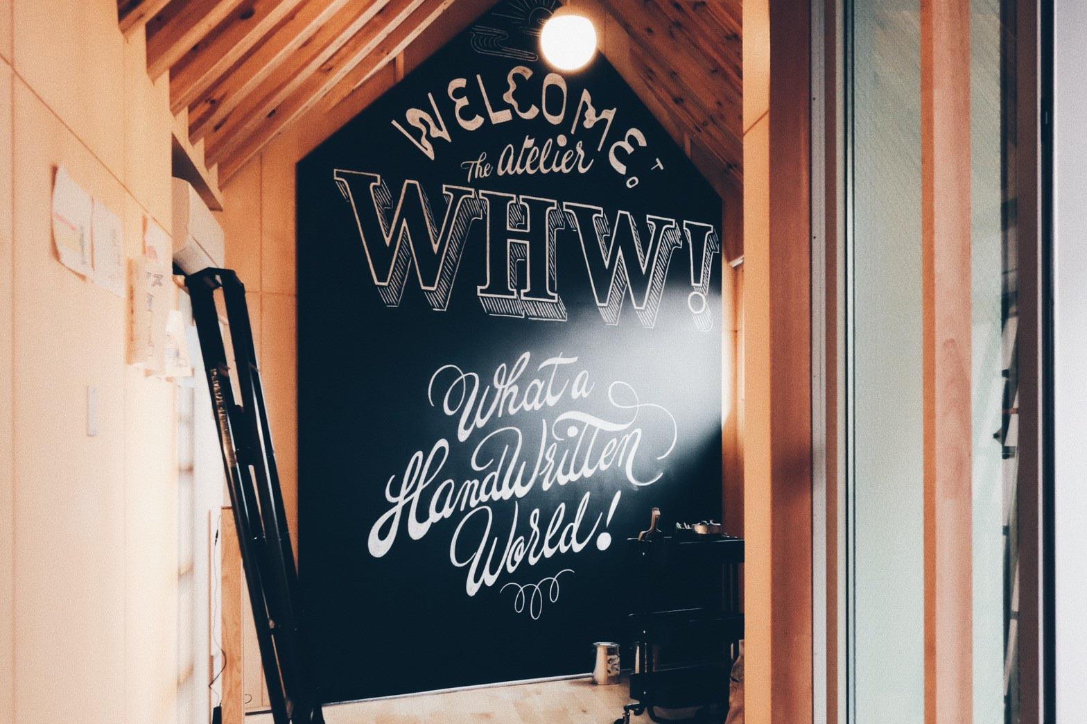 設計師品牌 - whw-chalkboy